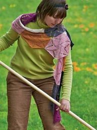Medallion Scarf by Tanis Gray - (Purchase ONLY ONE COPY to get all the patterns from Findley by Susan Gibbs)