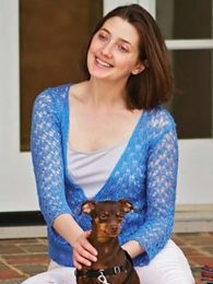 Crossover Lace Sweater by Tanis Gray  - (Purchase ONLY ONE COPY to get all the patterns from Findley by Susan Gibbs)
