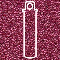 Miyuki Japanese Seed Beads Size 6/0 - Duracoat Galvanized Light Cranberry (6-94211-TB)