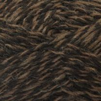 Jamieson's Double Knitting - Moorit/Black (Color #117)