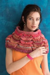 Dimensional Tuck Stitch Cowl (Free Download with a Noro Ginga purchase of 3 or more skeins)
