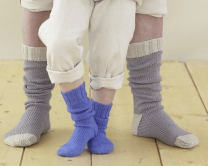Design 1 (Socks) - Included in The Twelfth Sublime Extra Fine Merino Wool DK Design Book