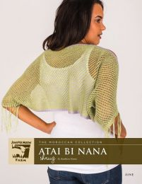 Juniper Moon Farm Aine - Atai Bi Nana Shrug - Free Download with Purchase of 2 Skeins of Juniper Moon Aine