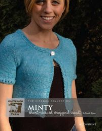 Juniper Moon Farm Moonshine - Minty Short-Sleeved Cropped Cardi