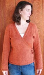 Knitting Pure and Simple - Neckdown Wrap Cardigan