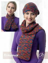 Hat, Neck Warmer and Scarf - Free Download with Huasco Chunky Purchase of 4 or more skeins
