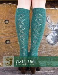 Gallium Knee Socks by Pamela Wynne - Herriot Fine Pattern
