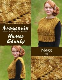 Ness Top - Free Download with Huasco Chunky Purchase of 4 or more skeins