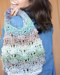 Handbag (Free Download with a Noro Ginga purchase of 2 or more skeins)