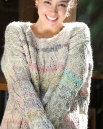 Zig Zag Sweater - Free Download with Silk Garden Lite Solo Purchase of 4 or more skeins
