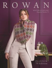 !Rowan Knitting & Crochet Magazine Number 70 - Purchases that include this Magazine Ship Free (Contiguous U.S. Only)