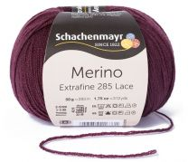 Schachenmayr Merino Extrafine 285 Lace - Plum (Color #544)