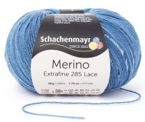 Schachenmayr Merino Extrafine 285 Lace - Denim (Color #583)