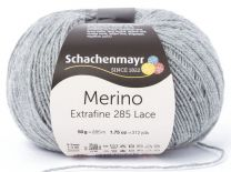 Schachenmayr Merino Extrafine 285 Lace - Grey Heather (Color #592)