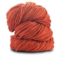 Blue Sky Fibers Worsted Hand-Dyed - Rusty Orange (Color #2010 Lot 9526)