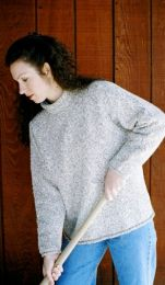Knitting Pure and Simple - Bulky Neckdown Cardigan for Women