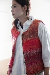 Sleeveless Jacket (Free Download with a Noro Ginga purchase of 3 or more skeins)