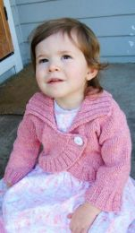 Knitting Pure and Simple - Children's Neckdown Bolero