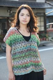Cross Stitch Top (Free Download with a Noro Ginga purchase of 4 or more skeins)