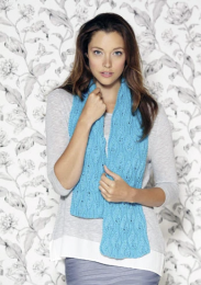 Design 15 (Scarf) - The Second Sublime Worsted Design Book