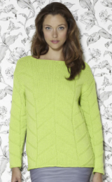 Design 4 (Pullover Sweater) - The Second Sublime Worsted Design Book