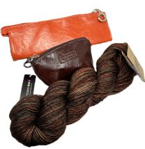 Namaste Skinny Mini (Pumpkin Spice), Jemma Pouch (Chocolate) & Tosh Merino Light