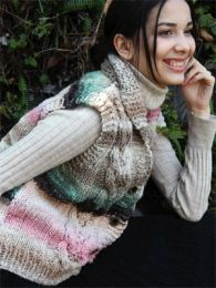noro- cabled vest