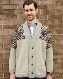 Dave's Fair Isle Cardigan - Debbie Bliss Knitting Magazine - Fall-Winter 2012 (Issue #9)