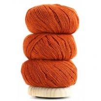 Geilsk Cotton Wool - Soft Burnt Orange (Color #32)