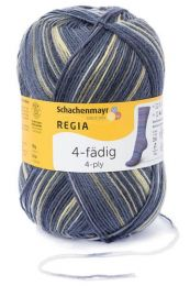 Regia 4-Ply Color - Atmosphere (Color #4999)