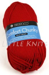 Berroco Comfort Chunky - Primary Red (Color #5750)