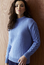 Design 1 - Included in The Fifth Sublime Worsted Design Book
