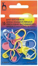 Pony Fish Safety Stitch Markers Assorted (Item #60674)
