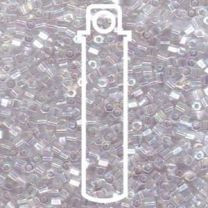 Miyuki Japanese Seed Beads Size 8/0 - Cut Crystal with Iridescent Coating (8C-9250-TB)