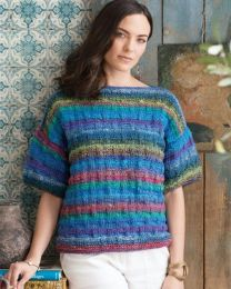 Basket Weave Tee - Included in Noro Knitting Magazine Issue #10