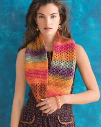Garter And Lace Cowl - Included in Noro Knitting Magazine Issue #10