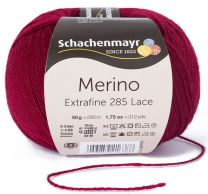 Schachenmayr Merino Extrafine 285 Lace - Wine (Color #532)