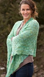 Oakleaf Shawl - Free with Purchase of Dream in Color Baby