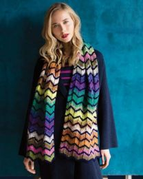 Chevron Striped Scarf - Included in Noro Knitting Magazine Issue #9