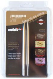 "US 10 - Addi Click Lace ""Long"" Tips - Size: US 10 (6 mm) - Set of 2"