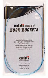 "US 7 - Addi Sock Rockets 24"" / 60 cm Circular Needles - US Size 7 (4.5 mm)"