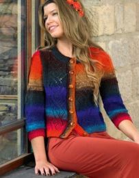 Adore Cardigan Pattern (Purchase ONLY ONE COPY to get all the patterns from Noro Romance)