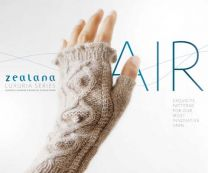Zealana Air Luxuria- Pattern Book- Cover