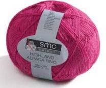 !SMC Select Highland Alpaca Fino - Fuchsia Pink (Color #7345)