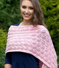 Anna Wrap - Free Download with Purchase of 5 or More Skeins of Huasco Worsted