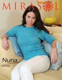 One piece eyelet T-shirt Mirasol Nuna Pattern