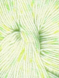 Euro Baby Babe Speckled - White with Green and Yellow Speckles (Color #205) - FULL BAG SALE (10 Skeins)
