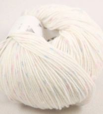 Euro Baby Babe Speckled - White with Pink and Yellow Speckles (Color #202)