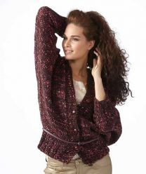 Ladies' Jacket with Batwing Sleeves Pattern (Purchase ONLY ONE COPY to get all the patterns from SMC Inspiration - 60)