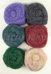 Bartlett Yarns Roving Six Pack - Assorted #5